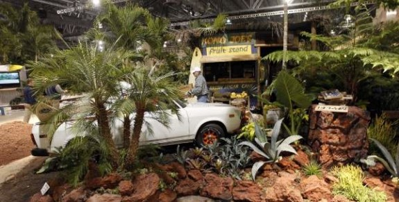 Philadelphia blooms for International Flower Show